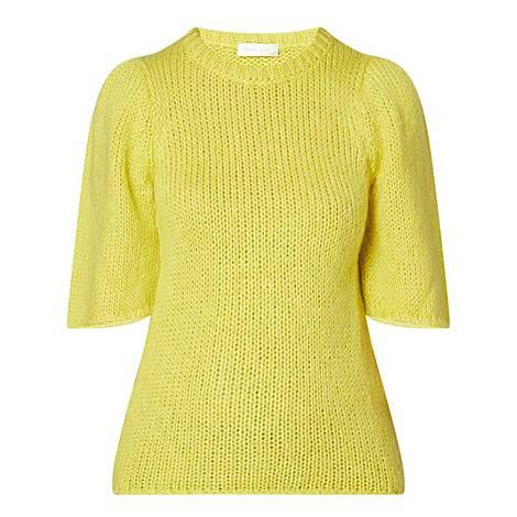 Hesper Puffed Sleeve Sweater, ${color}