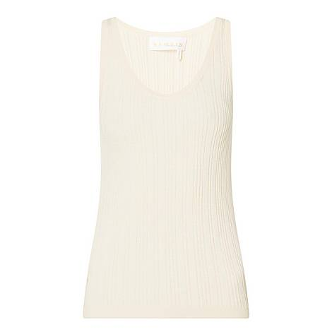 Gere Ribbed Sleeveless Top, ${color}