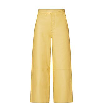 Manu Leather Trousers