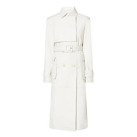 Pirello Leather Trench Coat, ${color}