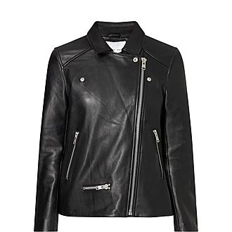 Welter Leather Biker Jacket