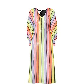 Thora Flared Midi Dress