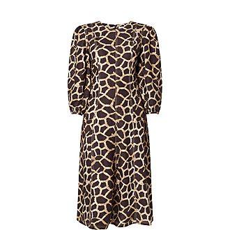 Acacia Giraffe Print Dress