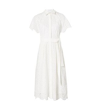 Savannah Broderie Anglaise Dress