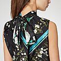 Back Bow Tie Blouse, ${color}