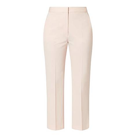 Cropped Tailored Trousers, ${color}