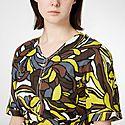 Joy Printed Linen And Cotton-Blend Midi Dress, ${color}