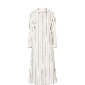 Papy Striped Shirt Dress