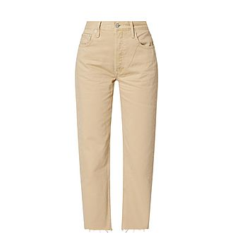 The Tommy Straight Leg Denim Jeans