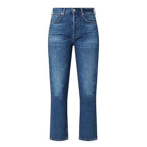 Charlotte Straight Cropped Jeans, ${color}