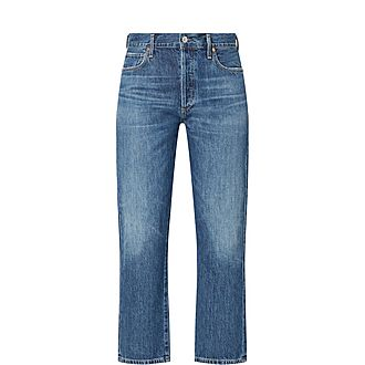 Emery Relaxed Crop Jeans