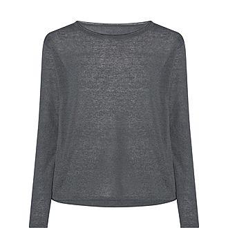 Sheer Linen Sweater
