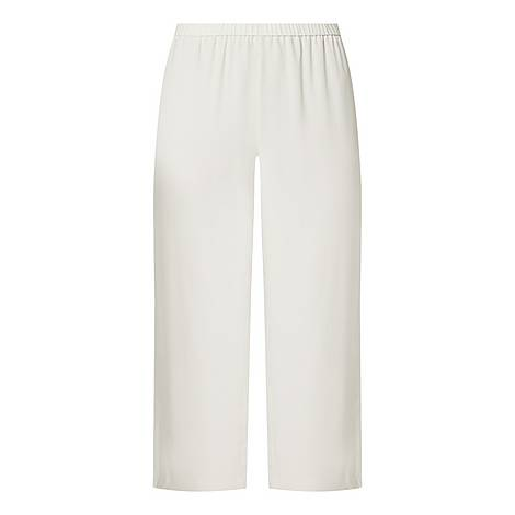 Cropped Straight Trousers, ${color}