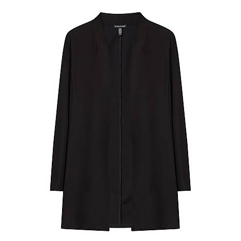 Long Crêpe Jacket, ${color}