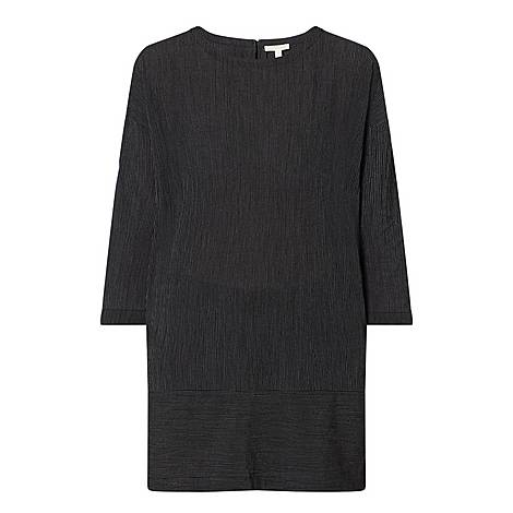 Mini Stripe Crepe Dress, ${color}