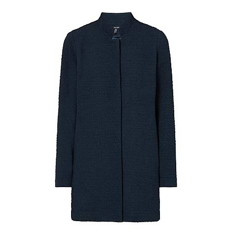 Jacquard Longline Jacket, ${color}