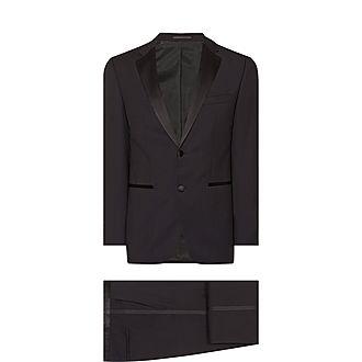 Black Slim Dinner Suit