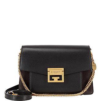GV3 Suede Small Shoulder Bag
