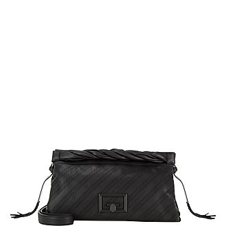 ID 93 Leather Clutch