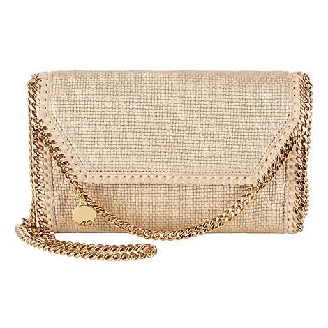Falabella Canvas Shoulder Bag, ${color}