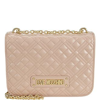 Quilted Medium Chain Bag