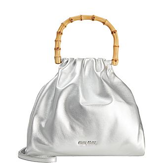 Bamboo Bucket Bag