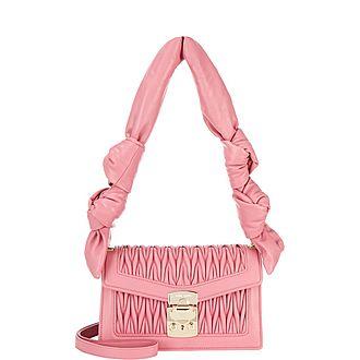Knotted Confidential Shoulder Bag