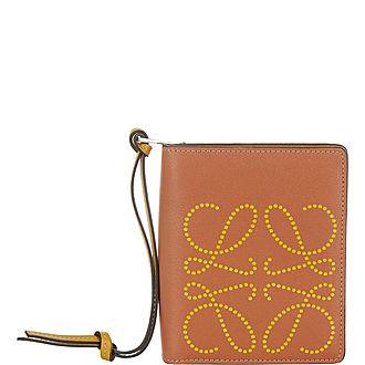 Anagram Small Zip Around Wallet