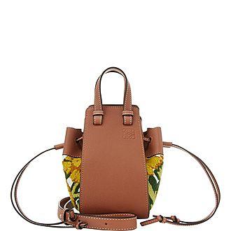 Mini Floral Hammock Shoulder Bag