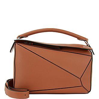 Puzzle Medium Shoulder Bag