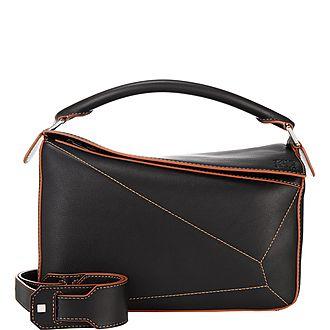 Soft Puzzle Shoulder Bag