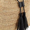 Raffia Bucket Bag, ${color}