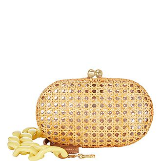 Wicker Chain Bag