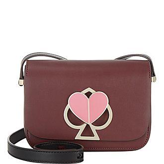 Nicola Twistlock Small Crossbody Bag