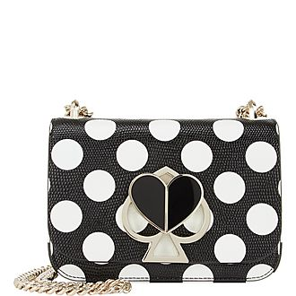Dotted Nicola Shoulder Bag