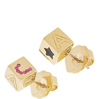 Toy Blocks Earrings
