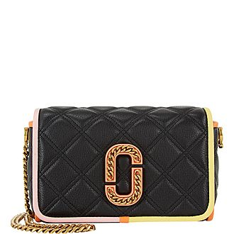 Status Quilted Crossbody Bag