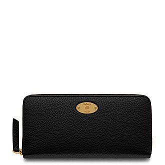 Plaque Zip Wallet