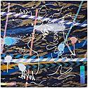 Hazard Silk Scarf, ${color}