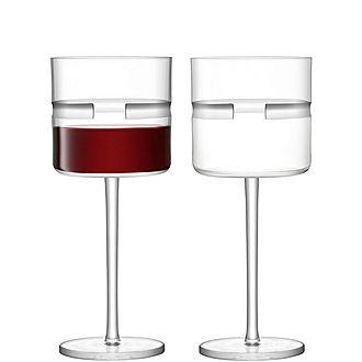 Set of Two Horizon Red Wine Glasses
