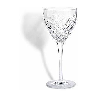Barwell Cut Crystal Wine Glass