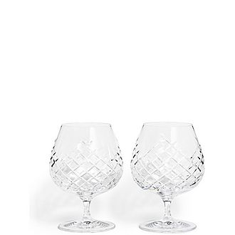 Set of Two Barwell Brandy Glasses