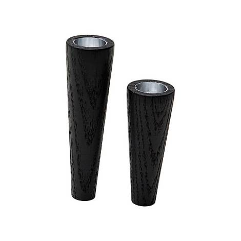 Two-Piece Cone Candle Holder Set, ${color}