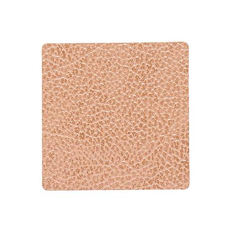 Square Leather Coaster 10cm, ${color}