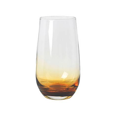 Amber Tall Tumbler Glass, ${color}