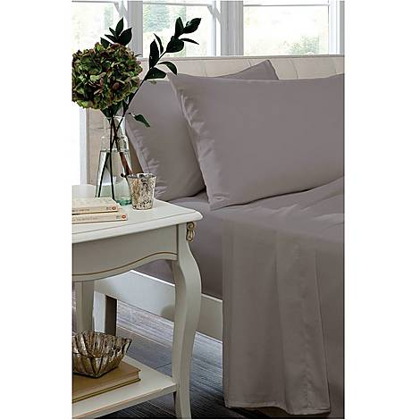 Egyptian Sateen 400 Thread Count Fitted Sheet, ${color}