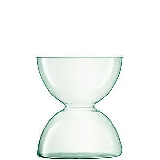 Glass Canopy Vase 24cm