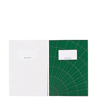 Set of Two A5 Notebooks