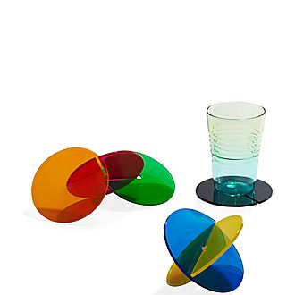 Set of Six Lily Pad Coasters