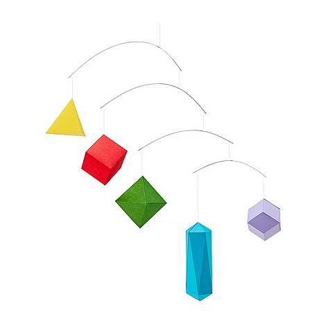 DIY Polygon Paper Mobile, ${color}
